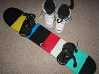 Two near excellent condition snowboards! Used only one