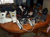 I have 1 pair of white size 8.5 and 1 pair of size 7