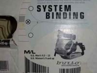I have a pair of burton system bindings 6 discs 3D and