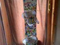 Womens Burton Feather Snowboard 144 Comes with Burton