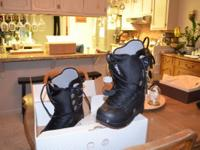 Size 9 Men's Snowboarding Boots. Used only once. Still