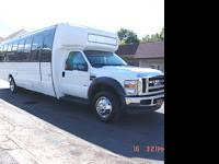 BUS FORD F550 kk 33 2008 $58500 obo chassis: ford F550