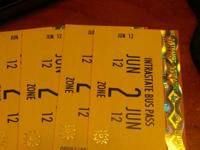 3 books of 10 tickets for $70.00 each or $210.00 for