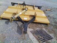 BUSH-HOG 7' PULL LOOK GOOD $2000.00 CALL  Location:
