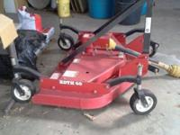 BUSH HOG FINISH MOWER 5FT. LIKE NEW LESS THAN HALF