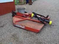 Bush Hog Mower 72 inch cut works great. Call .