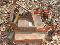 "Bush Hog Model TM 4 RM Rotary Cutter. 48"" cut. Serial #"