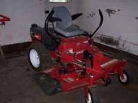 This mower is 2 1/2 years old. It's an Estate Series