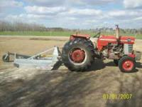 I run a 65 HP massey ferguson and a 6ft bush hog and