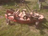 BushHog Brand 6ft Finish Mower ATF720 $700 3pt. Pto