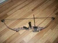 bush master compound bow 60 lb drawl $50.00