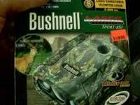 I have a camo bushnell rangefinder in the box only used