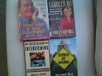 Expense $1 each or all 5 books (like new) for $4. If