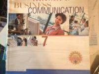 Essentials of business communication.Used it for fall