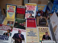 Variety of Valuable business Books for sale hard and
