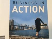 Business in Action textbook from NWFSC Contemporary