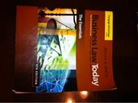 Business Law Today book used at San Jacinto College.