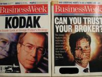 BUSINESS WEEK LOT JAN 30 & FEB 20 1995 1/30/95 &