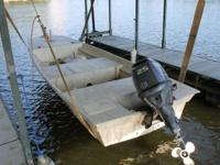 2005 Custom Built Skiff by Busken Island Marine