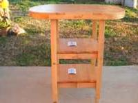 BRAND NEW BUTCHER BLOCK CART. GREAT PIECE WITH MULTIPLE