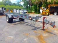 Butler pole trailer Galvanized 31ft extended  B02549