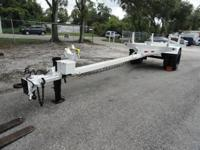 Butler pole trailer single axle - 03013 GVWR: 15,000