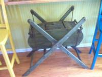 antique butter churn, originated from a plantation/farm
