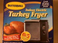I have sale a Butterball electric turkey Frier   Please