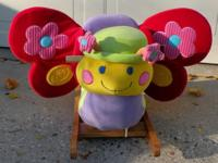 Betty's Butterfly Rocker Plush Chair Seat 9 months to 3