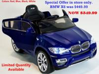 Special Offers in store only!!!. Buy New Cars for Kids