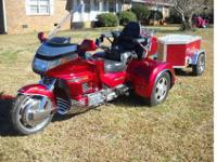 1992 HONDA GOLDWING SE WITH A CALIFORNIA SIDECAR TRIKE
