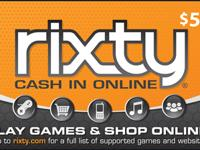 Rixty is a universal prepaid card for over 1,000
