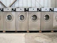 Wascomat Front Load Washer 3PH W124 Equipment is tested