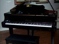 One owner Yamaha Baby Grand  in excellent shape.Older