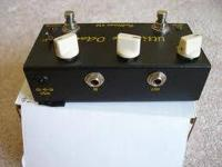 I am selling my fulltone ultimate octave pedal. True