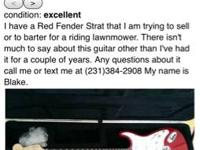 Seller is promoting an OBVIOUS fake fender strat for