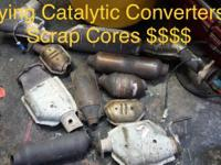 Hi Im Buying Catalytic Converters for top dollar cash