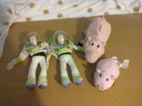 I have 2 puppet Buzz lightyear and 2 of the pig, one is
