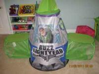 Like new Buzz Lightyear tent with tunnel. Very good & buzz lightyear bed Classifieds - Buy u0026 Sell buzz lightyear bed ...