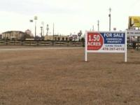 1.5 ac, level & open, zoned C-2 Commercial, 331'