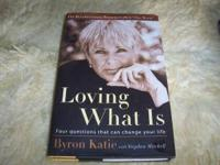 I have 2 Byron Katie's books for sale. I NEED YOUR