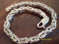 I have a Byzantine Gold Bracelet for sale. It's 14 kt