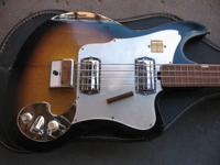Up for sale here is an awesome vintage c.1964 Teisco