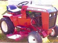 1982 C-85 Wheel Horse with 8hp. Kohler Motor and Mowing