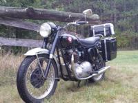 Full service vintage motorcycle shop we Service BSA