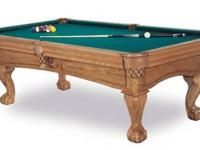 "C.L. Bailey Dutchess Pool Table, Solid Wood, 1"" 3pc"