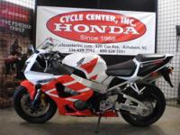 This 2000 CBR929RR is one of the lightest,