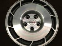 "I have a set of 4 Corvette C4 factory alloy 16""x8.5"""