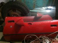 I'm selling 2 red c4 chevy corvette doors from an 85
