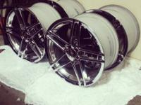 I have a set of really nice OEM C6 Z06 wheels. Rears